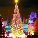 USJクリスマスツリーの高さは?2014点灯式の時間はいつまで?